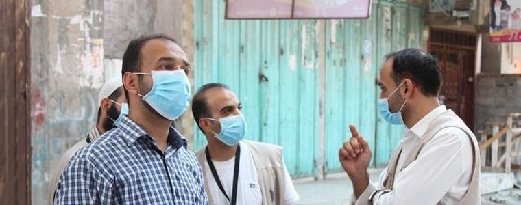 التنمية الإجتماعية في رفح والداخلية والصحة معا في الميدان من أجل الأسر المحجورة.
