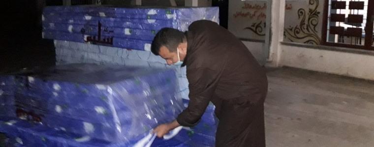 وزارة التنمية الاجتماعية تستنفر فرق الطواقم لديها لإغاثة أسر أثر تعرض مبناهم الى تصدعات وانهيارات