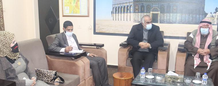 التنمية الاجتماعية تبحث سبل تعزيز التعاون مع مؤسسات المجتمع المدني من أجل خدمة الفقراء في محافظة رفح