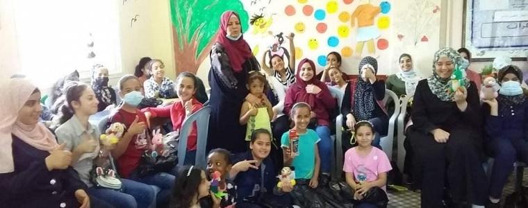 تمكين المراة والمجتمع في الوسطى يختتم مخيما صيفيا ضم زوايا مختلفة