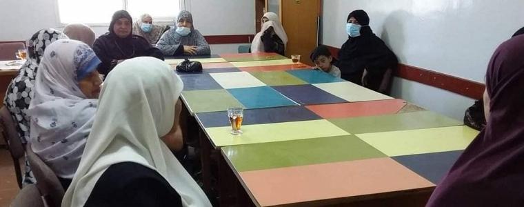التنمية الاجتماعية تنفذ يوم مفتوح لسيدات محو الأمية في مركز تمكين النصيرات