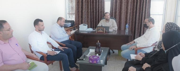 وحدة الجمعيات ودائرة الأيتام بوزارة التنمية الاجتماعية تعقدان اجتماعاً مع بعض الجمعيات العاملة في كفالة الأيتام