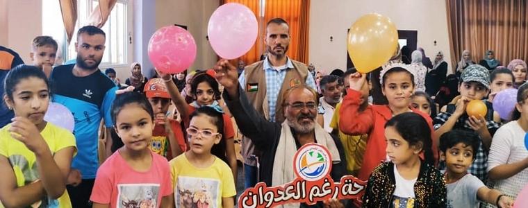 التنميه الاجتماعيه بالتعاون مع مركز وطن الشبابي تنفذ يوما ترفيهيا بعنوان